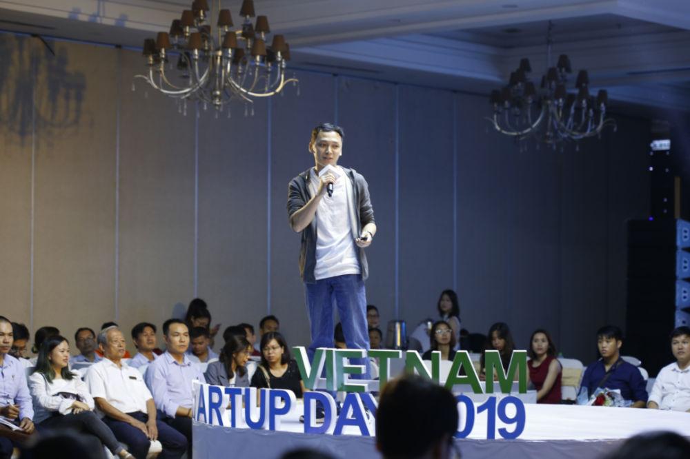 Thai Chuong tai Vietnam Startup Day 2019
