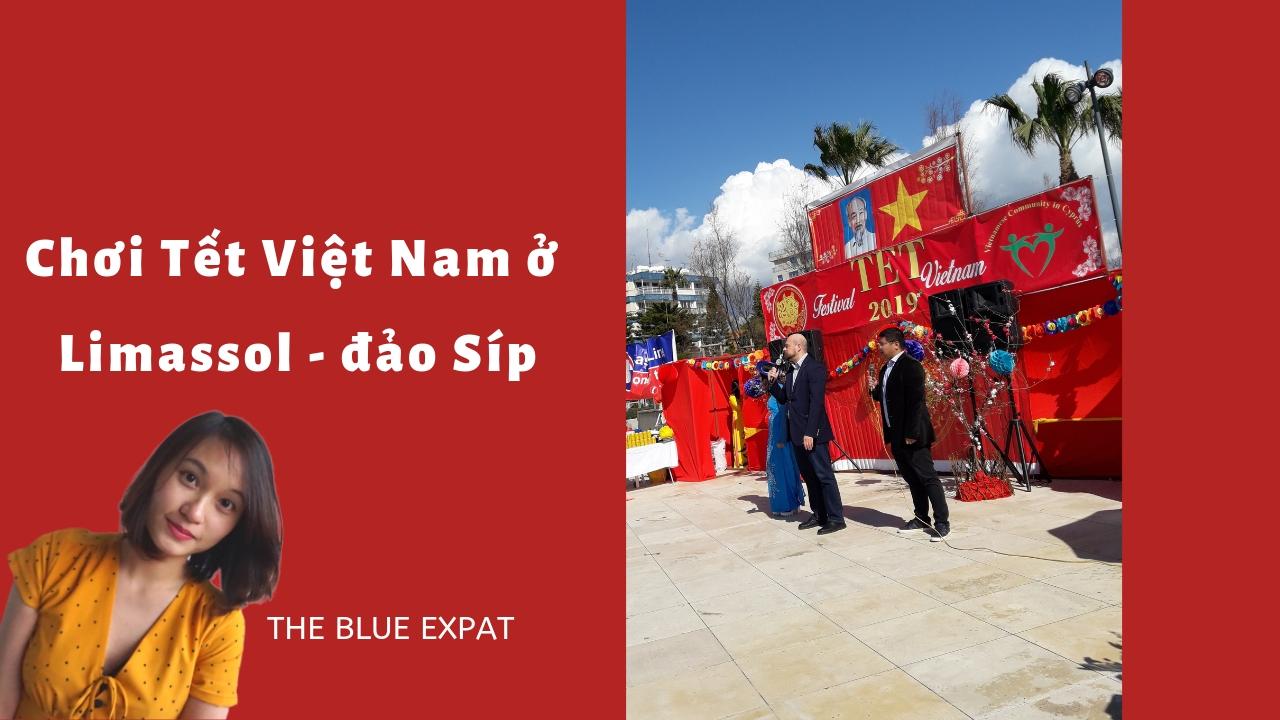 choi Tet nguoi Viet o Limassol Sip the blue expat podcast