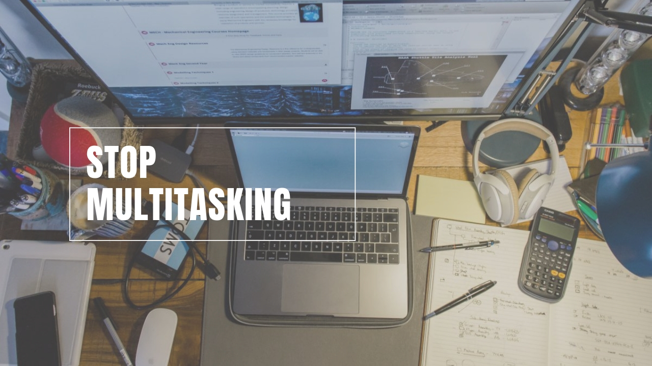 Stop multitasking the blue expat podcast time management series